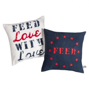 FEED Love With Love Pillows