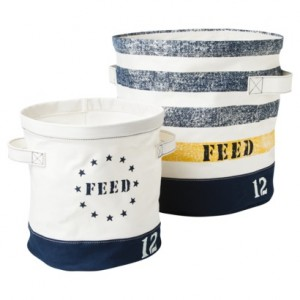 FEED Fabric Bins.