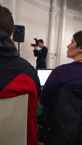 Take a photo of the photographer #SoMeta